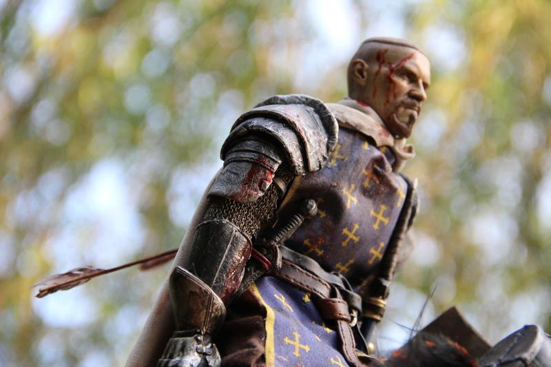 Mort d'un chevalier (Azincourt - 25 octobre 1415) Img_1625