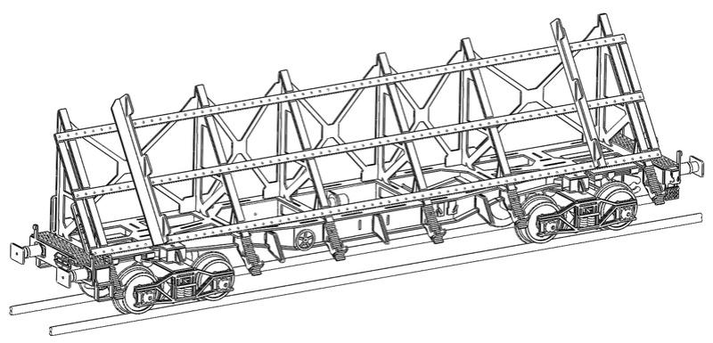 [TJ-Modeles] TJ-7555 - Plat à pupitre U51-6 (Kit) - Ech. N Tj-75512