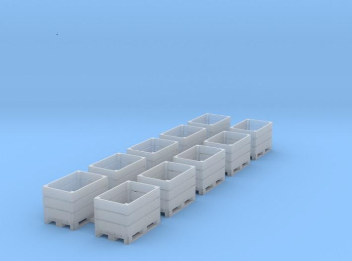 [TJ-Modeles] Accessoires en impression 3D - Echelle H0 Tj-h0211