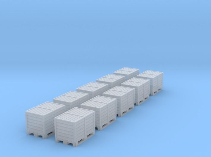 [TJ-Modeles] Accessoires en impression 3D - Echelle H0 Tj-h0212