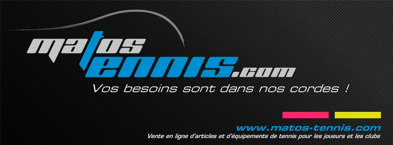 Matos Tennis: vente en ligne d'articles de tennis Accuei10