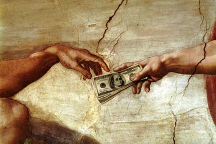 Faire du commerce avec la spiritualité ? Argent10