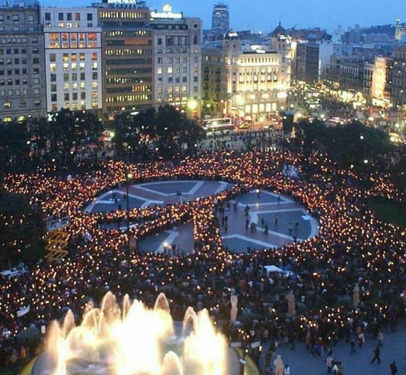 Solidarité - Attentats de Barcelone et de Cambrils survenus jeudi 17 août 2017  Barcel10