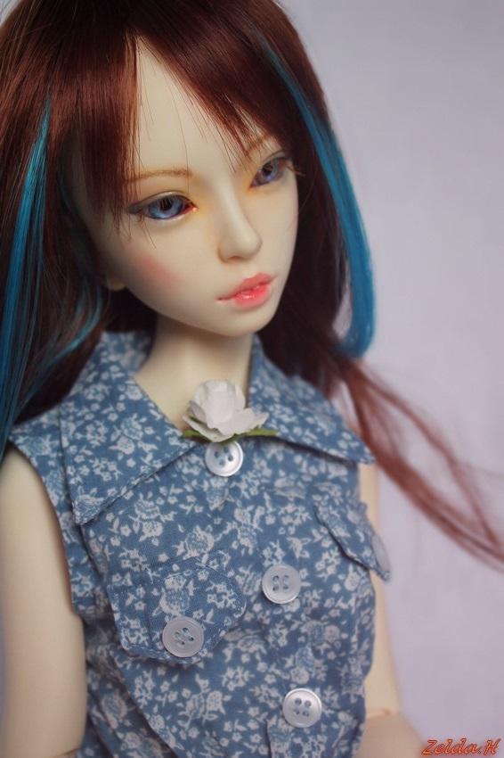 [V]Tiny*MNF*Ebony mini MSD*SD Miracle Doll/IMDA52  Oona_213