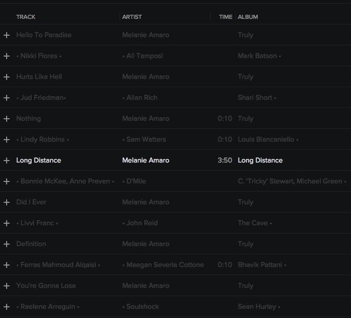 CREDITS: @itsMELANIEAMARO • 'TRULY' • @SYCO @EPIC_RECORDS Melani11