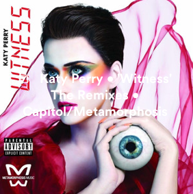 CREDITS: @KATYPERRY • 'WITNESS' • @CAPITOLRECORDS @METAMORPHOSISMU @SARAHHUDSONuvs @FERRAS @MAXOPEDIA10 @DJMUSTARD @MIKEWILLMADEIT Screen29