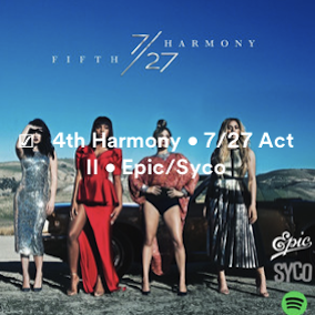 CREDITS: 4H • @FIFTHHARMONY • @EPIC_RECORDS @SYCO • [AUG 25] @TAYLARPARX @CANDYSHIELDS @HARMONYBOE @JASONEVIGAN Screen49