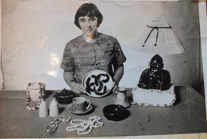 June Clark: Morrinsville Potter and Assistant to Elizabeth Lissaman Dscf8210