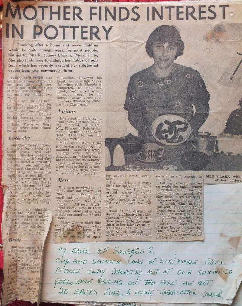 June Clark: Morrinsville Potter and Assistant to Elizabeth Lissaman Dscf8211