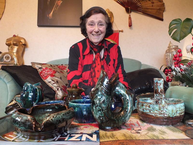 June Clark: Morrinsville Potter and Assistant to Elizabeth Lissaman Dscf8310