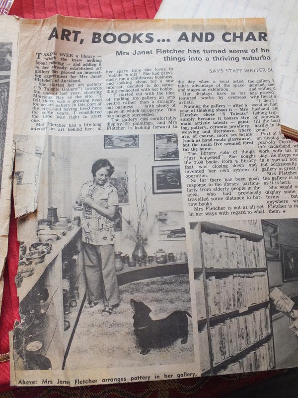 June Clark: Morrinsville Potter and Assistant to Elizabeth Lissaman Dscf8311