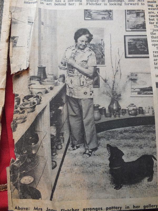 June Clark: Morrinsville Potter and Assistant to Elizabeth Lissaman Dscf8312