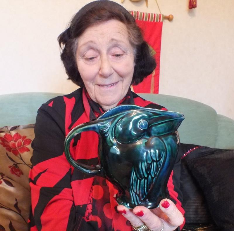 June Clark: Morrinsville Potter and Assistant to Elizabeth Lissaman Dscf8314