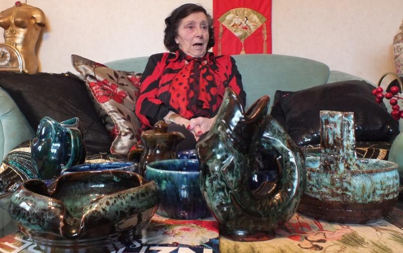 June Clark: Morrinsville Potter and Assistant to Elizabeth Lissaman Dscf8316