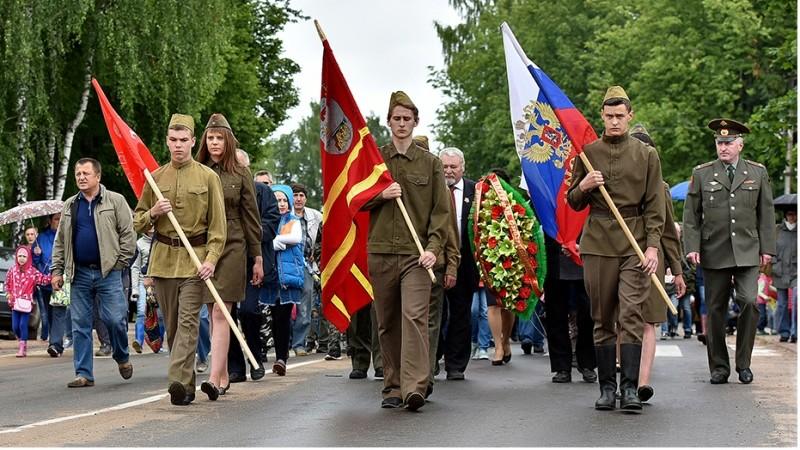 IV военно–исторический фестиваль «Слобода партизанская» 110