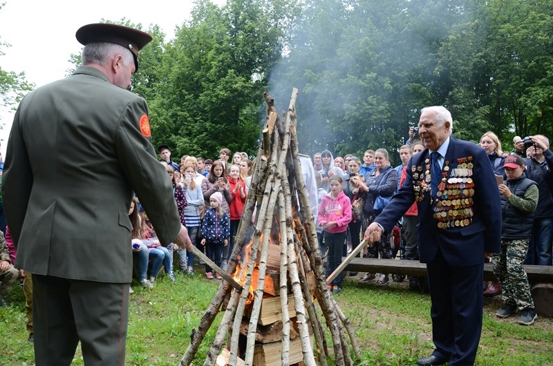 IV военно–исторический фестиваль «Слобода партизанская» 310