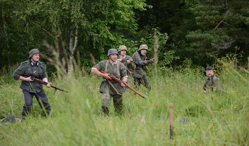 IV военно–исторический фестиваль «Слобода партизанская» 410