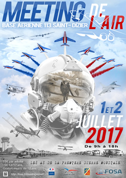 Meeting de l'air Saint Dizier Affich10