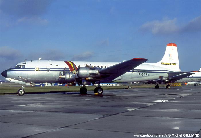 DC-6b Sécurité Civile de HELLER au 1/72ème Dc-6_110
