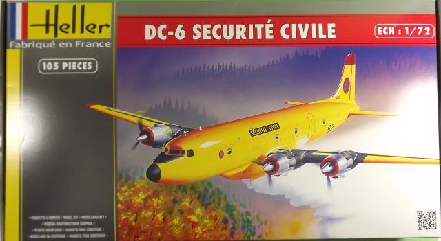 DC-6b Sécurité Civile de HELLER au 1/72ème - Page 3 Dc-6_s10