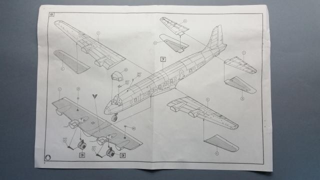 DC-6b Sécurité Civile de HELLER au 1/72ème Dc-6_s12