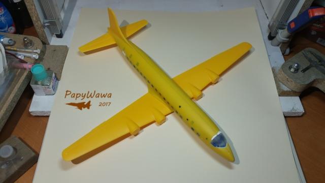 DC-6b Sécurité Civile de HELLER au 1/72ème - Page 2 Dc-6_s40