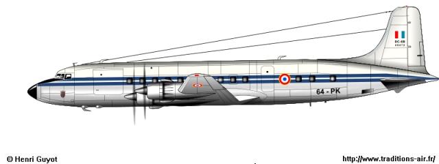 DC-6b Sécurité Civile de HELLER au 1/72ème Dc6_7510