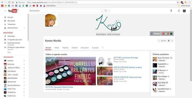 Ouvrir sa chaîne Youtube Captur12