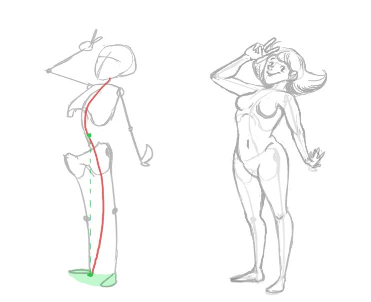 [Conseil] Les bases du dessin: Le corps humain Tuto_c10