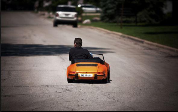 Porsche drôle/insolite 00000024