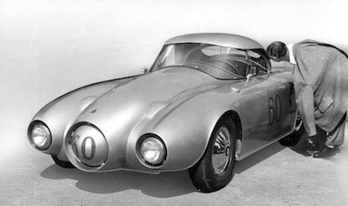 Porsche 356 de Lou Fageol à 4 roues motrices  000e11