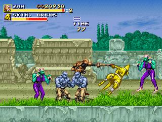 Streets of Rage Remake mod - Altered Beast Arcade Altera14