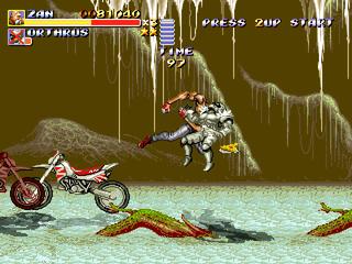 Streets of Rage Remake mod - Altered Beast Arcade Altera15