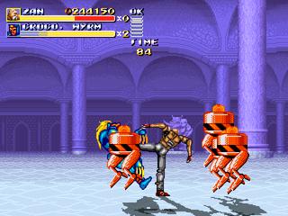 Streets of Rage Remake mod - Altered Beast Arcade Altera16
