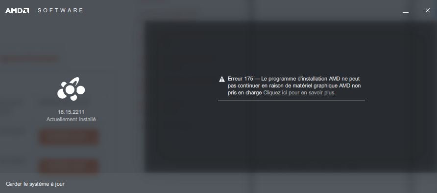 Absence suite pb GPU Captu334