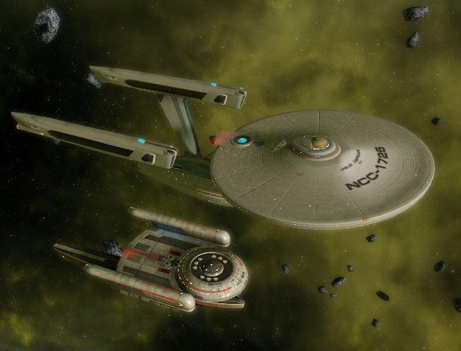 Activité de groupe pour les amateurs des premiers films de Star Trek Captur26