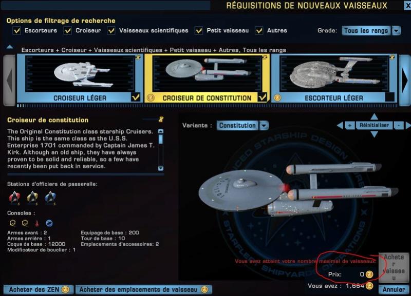 Bien utiliser la clé pour obtenir le vaisseau Captur77
