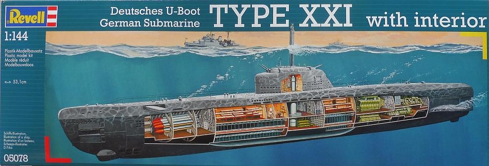 U-2540 1/144 Boite_12