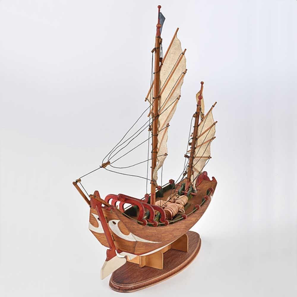 Matériel de base pour maquette en bois Sampan10