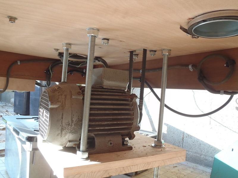 Modification moteur 380V triphasé en 220V Pa190511