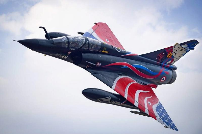 """Mirage 2000-N Ramex Delta  """"100 ans EC2/4 La Fayette"""" (Heller) 12377510"""