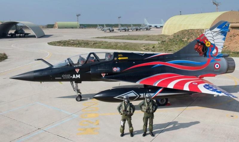 """Mirage 2000-N Ramex Delta  """"100 ans EC2/4 La Fayette"""" (Heller) 12513610"""
