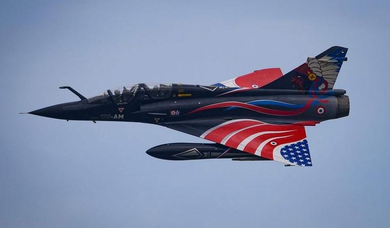 """Mirage 2000-N Ramex Delta  """"100 ans EC2/4 La Fayette"""" (Heller) 12795110"""