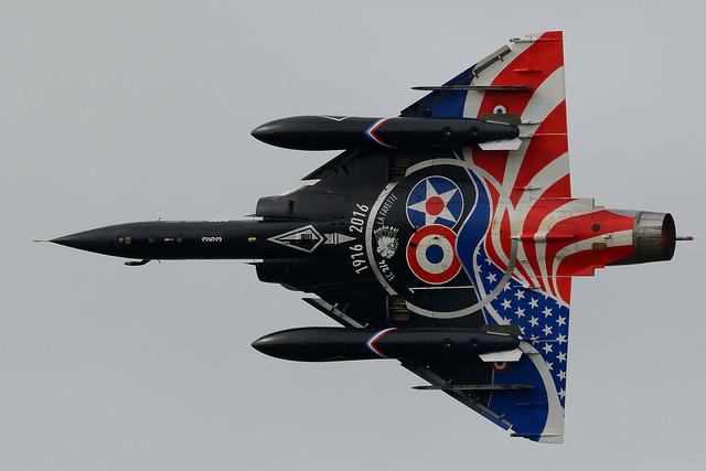 """Mirage 2000-N Ramex Delta  """"100 ans EC2/4 La Fayette"""" (Heller) 28444310"""
