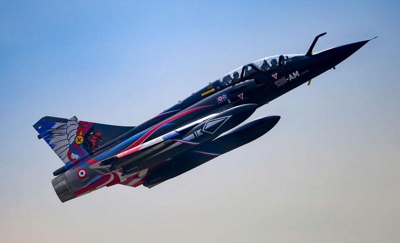 """Mirage 2000-N Ramex Delta  """"100 ans EC2/4 La Fayette"""" (Heller) 98016910"""