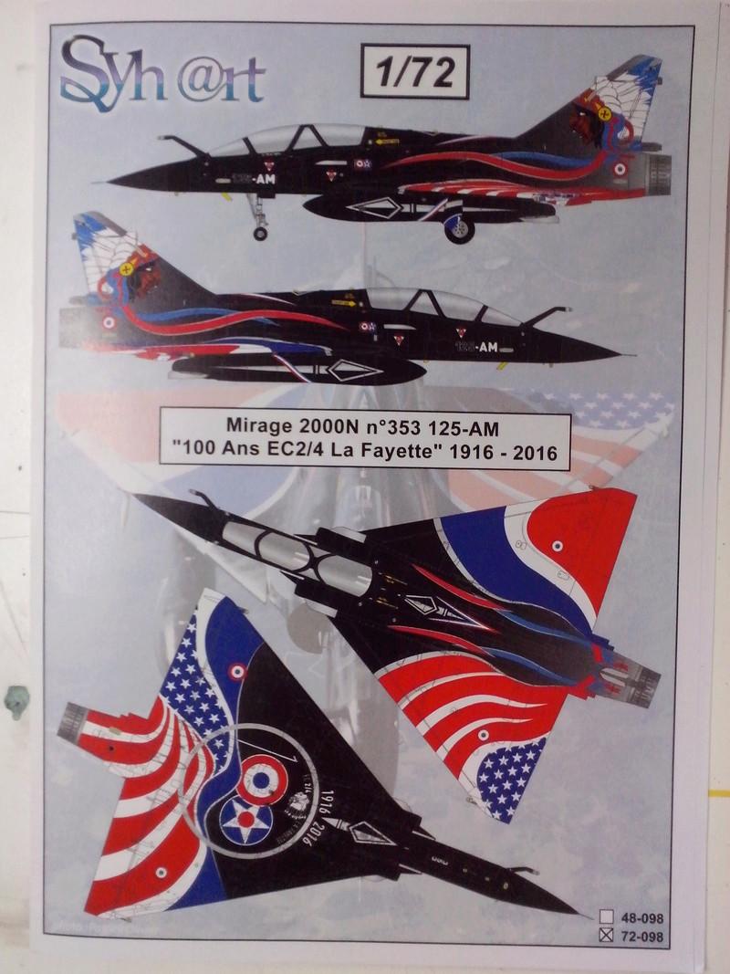"""Mirage 2000-N Ramex Delta  """"100 ans EC2/4 La Fayette"""" (Heller) Img_2062"""