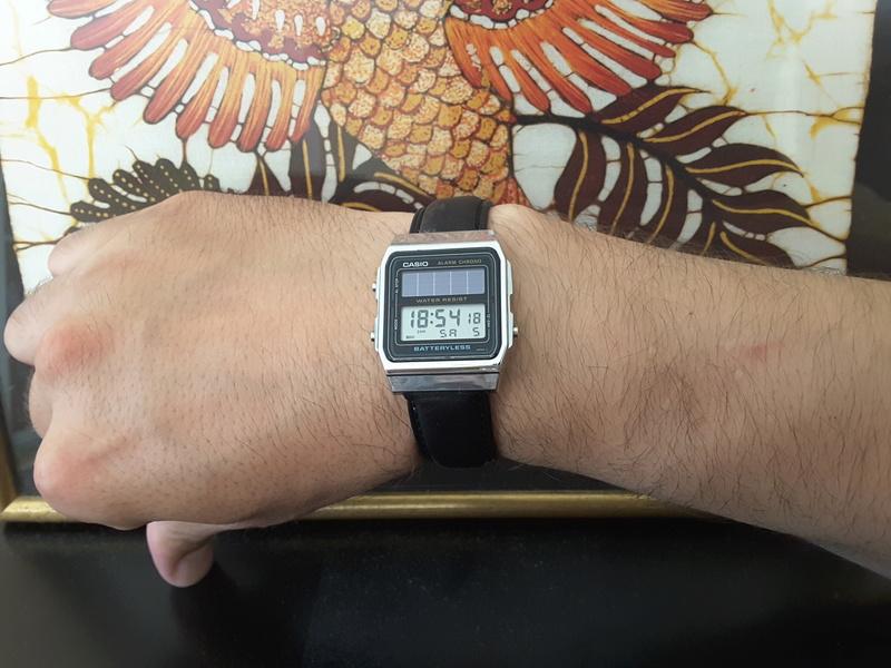 Review : Casio AL180 batteryless la montre des écolos 20170714