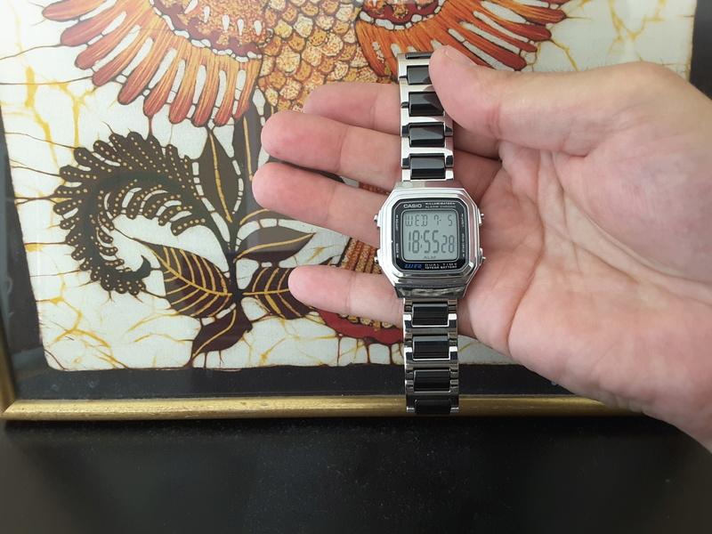 Review : Casio AL180 batteryless la montre des écolos 20170715
