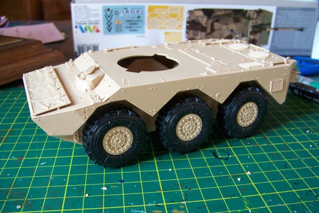 AMX 10 RC ,Direction Bagdad ! (Tiger models 1/35)Fini 100_1824