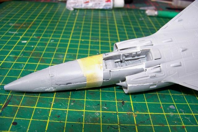 Mirage III EL 1/48 Kinetic (defi au trésorier de l' AMO61) 100_1830